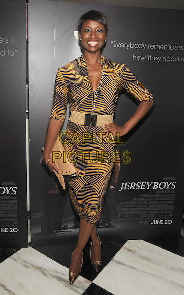 New York, NY- June 9:  Montego Glover attends the 'Jersey Boys' Special Screening at the Paris Theater on June 9, 2014 in New York City.  <br /> CAP/RTNSTV<br /> &copy;RTNSTV/MPI/Capital Pictures