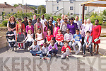 POETRY: Students of the Educate Together NS who held a poetry reading at the allotments sheds at Deans Lane, Tralee on Saturday.