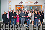 TAPE: Mark Ó Sé of the Kerry Football senior team who offically opened the newly furbish building in High Street, Oak Tree Finanical Services on Friday evening.