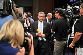 United States Representative Bobby Scott (Democrat of Virginia) a member of the U.S. House Committee on Standards of Official Conduct Adjudicatory Subcommittee walks past the cameras as he arrives for an organizational meeting to discuss the charges against U.S. Representative Charlie Rangel (Democrat of New York) in the Capitol in Washington, D.C. on Thursday, July 29, 2010..Credit: Ron Sachs / CNP..(RESTRICTION: NO New York or New Jersey Newspapers or newspapers within a 75 mile radius of New York City)