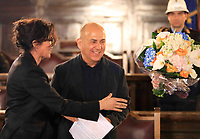 Cittadinanza onoraria di Napoli al regista  Ferzan Ozpetek. Nella foto Luisa Ranieri
