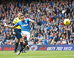 James Tavenier blasts home his free-kick to put Rangers ahead