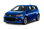 2019 Chevrolet Sonic LT RS Select Doors Door Hatchback angular front stock photos of front three quarter view