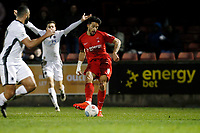 O's Macauley Bonne scores but goal is disallowed during Leyton Orient vs Boreham Wood, Vanarama National League Football at the Matchroom Stadium on 6th January 2018
