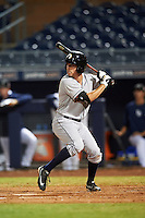 Glendale Desert Dogs Garrett Stubbs (4), of the Houston Astros organization, during a game against the Peoria Javelinas on October 18, 2016 at Peoria Stadium in Peoria, Arizona.  Peoria defeated Glendale 6-3.  (Mike Janes/Four Seam Images)