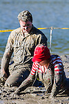Muddy Buddy Fun Run, Havelock Estuary, New Zealand, Sunday 11 May 2014. Ricky Wilson/www.shuttersport.co.nz
