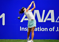 In Gee Chun of Korea, plays her shot from the first tee during the third round of the ANA Inspiration at the Mission Hills Country Club in Palm Desert, California, USA. 3/31/18.<br /> <br /> Picture: Golffile | Bruce Sherwood<br /> <br /> <br /> All photo usage must carry mandatory copyright credit (&copy; Golffile | Bruce Sherwood)during the second round of the ANA Inspiration at the Mission Hills Country Club in Palm Desert, California, USA. 3/31/18.<br /> <br /> Picture: Golffile | Bruce Sherwood<br /> <br /> <br /> All photo usage must carry mandatory copyright credit (&copy; Golffile | Bruce Sherwood)