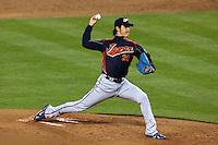 23 March 2009: #20 Hisashi Iwakuma of Japan pitches against Korea during the 2009 World Baseball Classic final game at Dodger Stadium in Los Angeles, California, USA. Japan defeated Korea 5-3