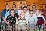 Footballers Night Out: The members of the Maid of Erin football team who had their annual get-together in the Maid of Erin, Listowel, on Friday night. Front from left: Shane OSullivan, Mountcoal, Daniel Hickey, Listowel, and James Maguire, Duagh. Back row l-r: Mark OBrien, Listowel, Aidan Mulvihill, Tarbert, Robbie Larkin, Rathea, Karl Jenkins, Alan Stack, Des Kelly and Stephen Morrissey, Listowel..