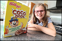 Kelloggs 'sexist' slogan changed after complaint from 10 year old.