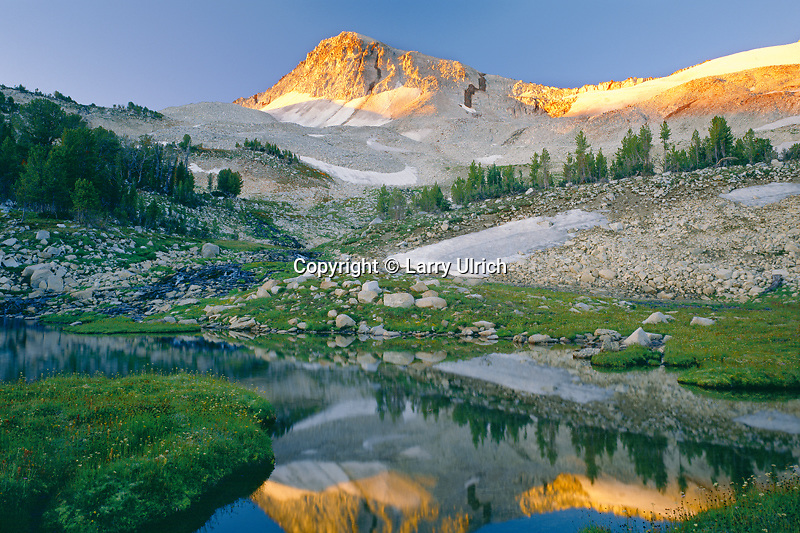 Eagle Cap Mountain at sunrise<br />