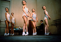 Children in Kirov ballet school, USSR