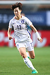 Yoo Younga (KOR), <br /> DECEMBER 11, 2017 - Football / Soccer : <br /> EAFF E-1 Football Championship 2017 Women's Final match <br /> between North Korea 1-0 South Korea <br /> at Fukuda Denshi Arena in Chiba, Japan. <br /> (Photo by Naoki Nishimura/AFLO)
