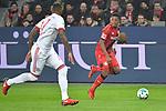12.01.2018, BayArena, Leverkusen , GER, 1.FBL., Bayer 04 Leverkusen vs. FC Bayern M&uuml;nchen<br /> im Bild / picture shows: <br /> Leon Bailey (Leverkusen #9), im Zweikampf gegen  Jerome Boateng (Bayern Muenchen #17),  <br /> <br /> <br /> Foto &copy; nordphoto / Meuter