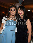 Louise and Katie Fagan at The Newtown Blues dinner dance in the Westcourt Hotel. Photo:Colin Bell/pressphotos.ie