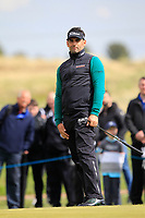 Lee Slattery (ENG) on the 4th green during Round 2 of the Betfred British Masters 2019 at Hillside Golf Club, Southport, Lancashire, England. 10/05/19<br /> <br /> Picture: Thos Caffrey / Golffile<br /> <br /> All photos usage must carry mandatory copyright credit (&copy; Golffile | Thos Caffrey)