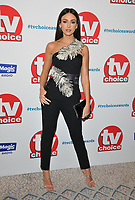 Michelle Keegan at the TV Choice Awards 2018, The Dorchester Hotel, Park Lane, London, England, UK, on Monday 10 September 2018.