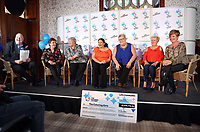 Pictured L-R: Camelot representative, Jule Saunders, Jean Cairns, Louise Ward, Sian Jones, Doreen Thompson and Julie Amphlett. Wednesday 08 November 2017<br />