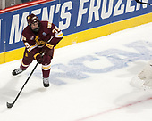 Parker Mackay (UMD - 39) - The University of Denver Pioneers defeated the University of Minnesota Duluth Bulldogs 3-2 to win the national championship on Saturday, April 8, 2017, at the United Center in Chicago, Illinois.