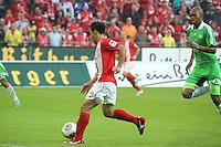 Chance fuer Shinji Okazaki(Mainz) - 1. FSV Mainz 05 vs. VfL Wolfsburg, Coface Arena, 3. Spieltag
