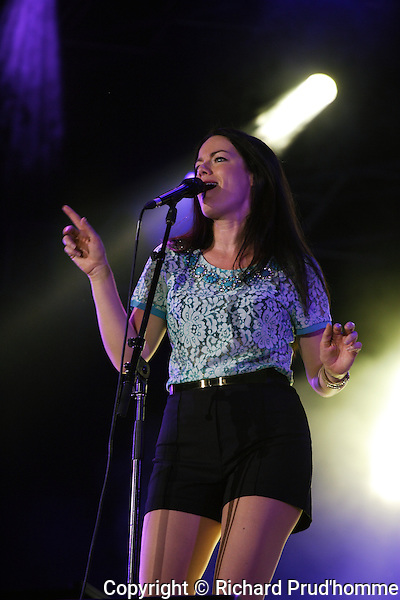 Emilie-Claire Barlow performs on stage at the Montreal International Jazz Festival