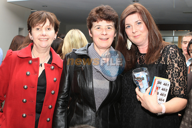 Helena Sheran, Aine Reilly and Claire Murphy at the Fundraiser for the New St.Mary's Parish Primary School  in the d Hotel...(Photo credit should read Jenny Matthews www.newsfile.ie)....This Picture has been sent you under the conditions enclosed by:.Newsfile Ltd..The Studio,.Millmount Abbey,.Drogheda,.Co Meath..Ireland..Tel: +353(0)41-9871240.Fax: +353(0)41-9871260.GSM: +353(0)86-2500958.email: pictures@newsfile.ie.www.newsfile.ie.