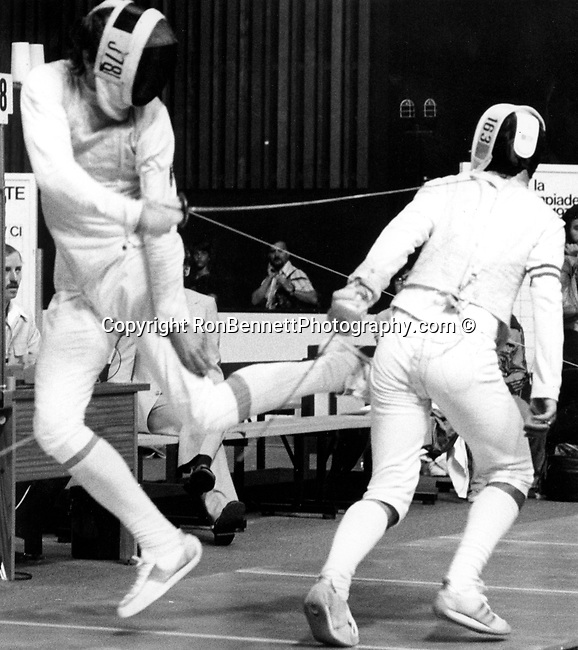 Olympic Fencing The 1976 Summer Olympics Games of the XXI Olympiad international multi-sport event celebrated in Montreal Quebec Canada the event was opened by Queen Elizabeth II as head of state of Canada and several members of the Royal Family,