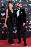 Ana Barrachina and Jose Corbacho attends red carpet of Goya Cinema Awards 2018 at Madrid Marriott Auditorium in Madrid , Spain. February 03, 2018. (ALTERPHOTOS/Borja B.Hojas)