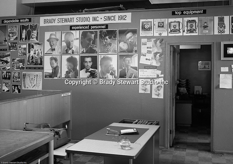 Pittsburgh PA:  View the the Brady Stewart Studio promotional exhibit at Ketchum McLeod and Grove Advertising offices in the Chamber of Commerce Building.  Brady Stewart Studio was a long-time provider of photographic services for Ketchum 1927-1991
