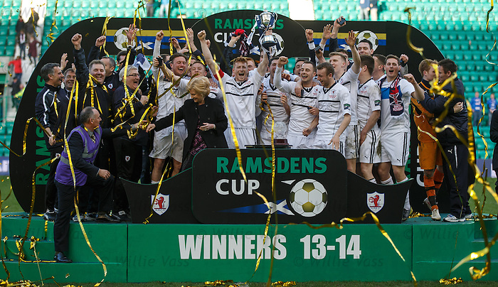 Raith Rovers lift the Ramsdens Cup