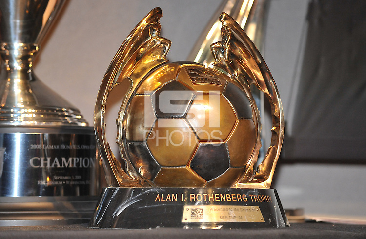 D.C. United 1996 Alan I. Rothenberg Trophy ,during the 11th Annual Kickoff luncheon, at The Hamilton Live DC in Washington DC , Tuesday March 5, 2013.