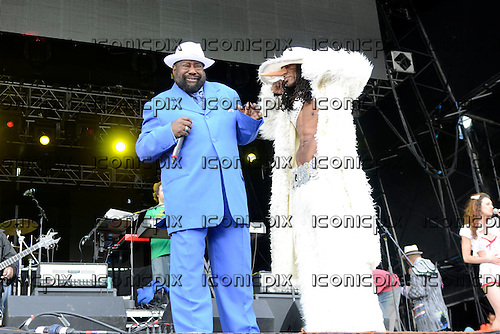 GEORGE CLINTON<br />  - performing live on the Main Stage on day One at Hop Farm in Paddock Wook, Kent UK - 29 Jun 2012<br /> Photo credit: George Chin/IconicPix