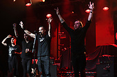 FORT LAUDERDALE FL - FEBRUARY 04: Tanner Keegan, Ryan Bennett, Mark Tremonti and Eric Friedman of Tremonti perform at Revolution Live on February 4, 2019 in Fort Lauderdale, Florida. : Credit Larry Marano © 2019