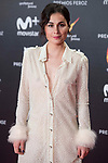 Nadia de Santiago attends red carpet of Feroz Awards 2018 at Magarinos Complex in Madrid, Spain. January 22, 2018. (ALTERPHOTOS/Borja B.Hojas)