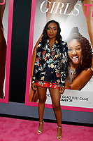 "LOS ANGELES - JUL 13:  Rashia Whitlock at the ""Girls Trip"" Premiere at the Regal Cinemas on July 13, 2017 in Los Angeles, CA"