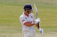 Ryan ten Doeschate of Essex celebrates scoring fifty runs during Essex CCC vs Kent CCC, Bob Willis Trophy Cricket at The Cloudfm County Ground on 3rd August 2020