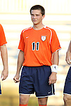 09 September 2011: Virginia's Eric Bird. The University of Virginia Cavaliers defeated the Duke University Blue Devils 1-0 at Koskinen Stadium in Durham, North Carolina in an NCAA Division I Men's Soccer game.
