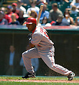 Chone Figgins of the Los Angeles Angels in action against the Cleveland Indians. ....Angels won 2-1.....David Durochik / SportPics..