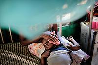 overnement Hospital Port Loko, Sierra Leone, children's and maternity ward.