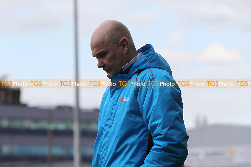 Eastleigh manager Richard Hill during Dagenham & Redbridge vs Eastleigh, Vanarama National League Football at the Chigwell Construction Stadium on 1st April 2017