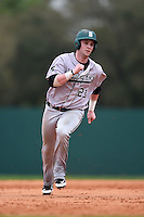 Slippery Rock Logan Brown (23) during a game against the University of the Sciences Devils on March 6, 2015 at Jack Russell Field in Clearwater, Florida.  Slippery Rock defeated University of the Sciences 6-3.  (Mike Janes/Four Seam Images)
