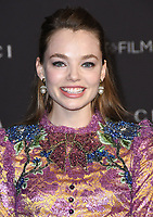 03 November 2018 - Los Angeles, California - Kristine Froseth. 2018 LACMA Art + Film Gala held at LACMA.  <br /> CAP/ADM/BT<br /> &copy;BT/ADM/Capital Pictures