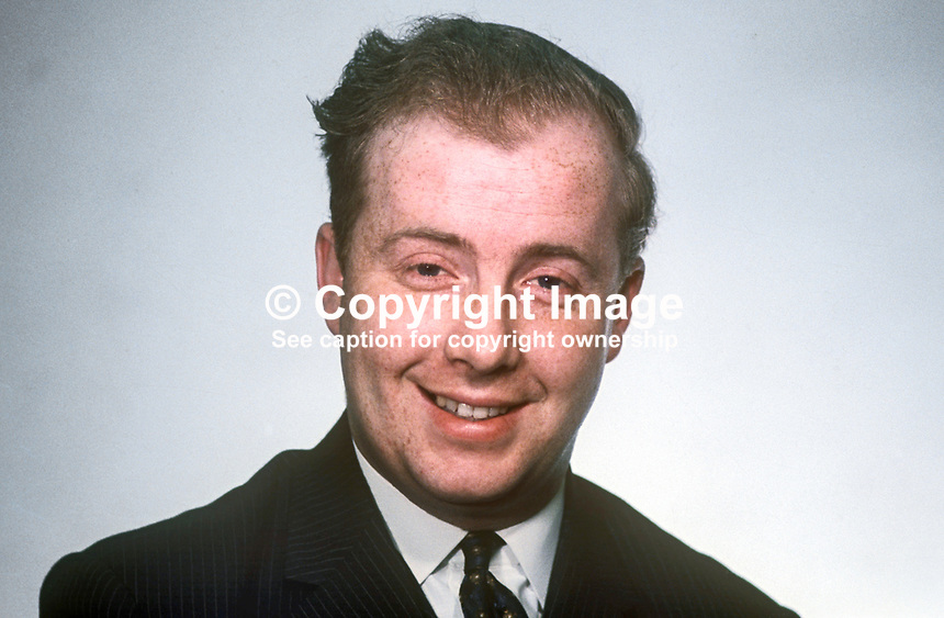 Ivan Cooper, MP, Mid Derry, Independent, N Ireland Parliament, Stormont, Belfast, March 1969, politician, 196903000103b<br />