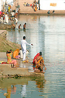 Pushkar Lake is one of the five most sacred pilgrimage destinations for Hindus in India. There are 52 bathing ghats around the lake, each with its own powers of healing.
