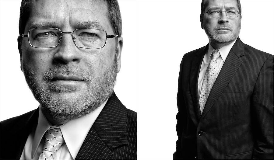 Slug: Boston Globe / Norquist.Date:  2012 - 03 -.Photographer: Mark Finkenstaedt for the Boston Globe.Location: The Norquist residence. Washington DC.Caption: Lobbyist Grover Norquist founder and president of Americans for Tax Reform.