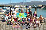 LAUNCHING: Local Childrens from Fenit and association members of the Seabreeze Festival who launched the Festival on Friday at Fenit Marina theFenit Developement Associate members were, Eoin Burns, Mike O'Neill, Rose and John Moriarty and Sinead Moriarty...................................... ....