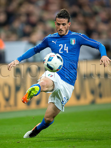 29.03.2016. Munich, Germany. International soccer match between Germany and Italy, at the Allianz Arena in Munich.  Alessandro Florenzi (Ita).