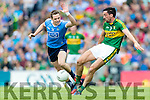 Anthony Maher Kerry in action against Dean Rock Dublin in the All Ireland Senior Football Semi Final at Croke Park on Sunday.