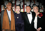 Michael Blackmore (Director) & Marian Seldes & Terrence McNally (Playwright) & Angela Lansbury<br /> attending for the Opening Night Performance After Party at  Sardi's Restaurant  in New York City.<br /> May 6, 2007
