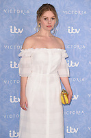 Nell Hudson at the photocall for season two of &quot;Victoria&quot; at Ham Yard Hotel, London, UK. <br /> 24 August  2017<br /> Picture: Steve Vas/Featureflash/SilverHub 0208 004 5359 sales@silverhubmedia.com